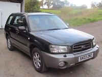 Subaru Forester 2 .0 x all weather 4x4
