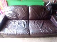 2&3 piece leather suite
