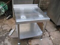 Hobart or Matcalf 20 quart commercial catering dough mixer stand.