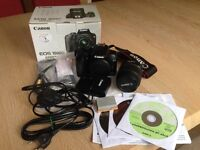 Canon EOS 1000D Camera with EF-S 18-55mm lens