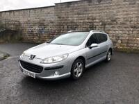 2008 Peugeot 407 SW, Top Of The Range Pano Roof, Ideal Family Car, Long MOT £875