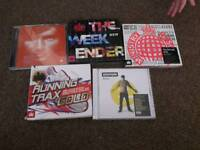 5 Cds for sale