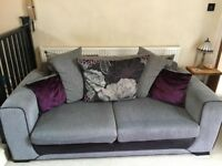 Sofa scatter-back Danni SCS - very good condition (matching swivel/snuggle armchair also listed)