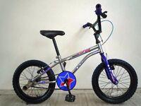 "(1900) 16"" 9"" APOLLO Boys Girls Kids Childs BMX Style Bike Bicycle; Age: 5-7; Height: 105-120 cm"