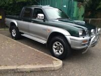 L200 £1595 truck diesel starts and drives how it should not navara ranger 4x4 tow bar commercial