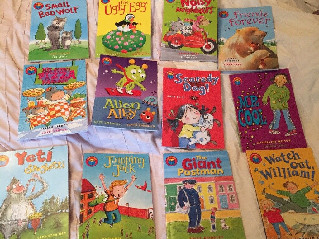 I am reading set of 12 colourful children's book