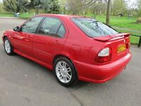 2002 02 MG 1.8 ZS+ 120 5 DOOR HATCHBACK LONG MOT 01/18 ALLOYS FULL LEATHER EXCELLENT DRIVE PX SWAPS