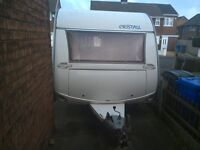cristall moorea , 2004 .full awning,motor mover £4750 ono