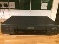 Black VCR recorder NV- HD636