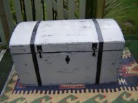 Victorian pine painted chest