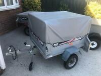 Erde tipping trailer + extension kit/jockey wheel
