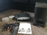 Bose AV 3-2-1 GS DVD Home entertainment system.