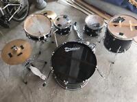 Premier drum kit fully sized