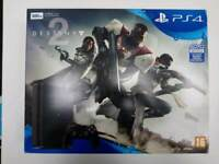 Ps4 slim New & Sealed Destiny 2