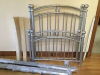Two single bed frames for quick sale.