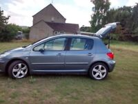 Peugeot 307 sport with mobility hoist