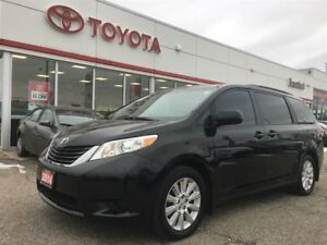 2014 Toyota Sienna LE, AWD, Brand New Tires, Off Lease, BU Camer
