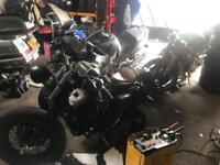 Harley Davidson Honda blackbird zx636 Kawasaki Breaking parts