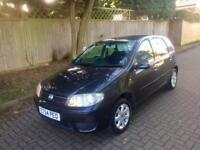 FIAT PUNTO 2005 GREY 1.2 AUTOMATIC PETROL 5DR ONLY 69K MILES A/C