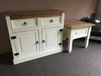 Cabinet and Side Table