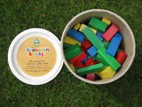 ELC big tub of wooden bricks