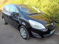 2010 VAUXHALL MERIVA 1.4 i 16V EXCLUSIVE 5DR (A/C) SERVICES HISTORY WARRANTY FINANCE AVAILABLE