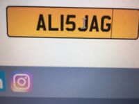 ALISJAG - A unique cherished number plate if your name is Ali - £2999 O.N.O.