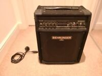 Behringer BXL900 - 90w, 2 channel Bass Guitar amplifier with 7-band graphic EQ