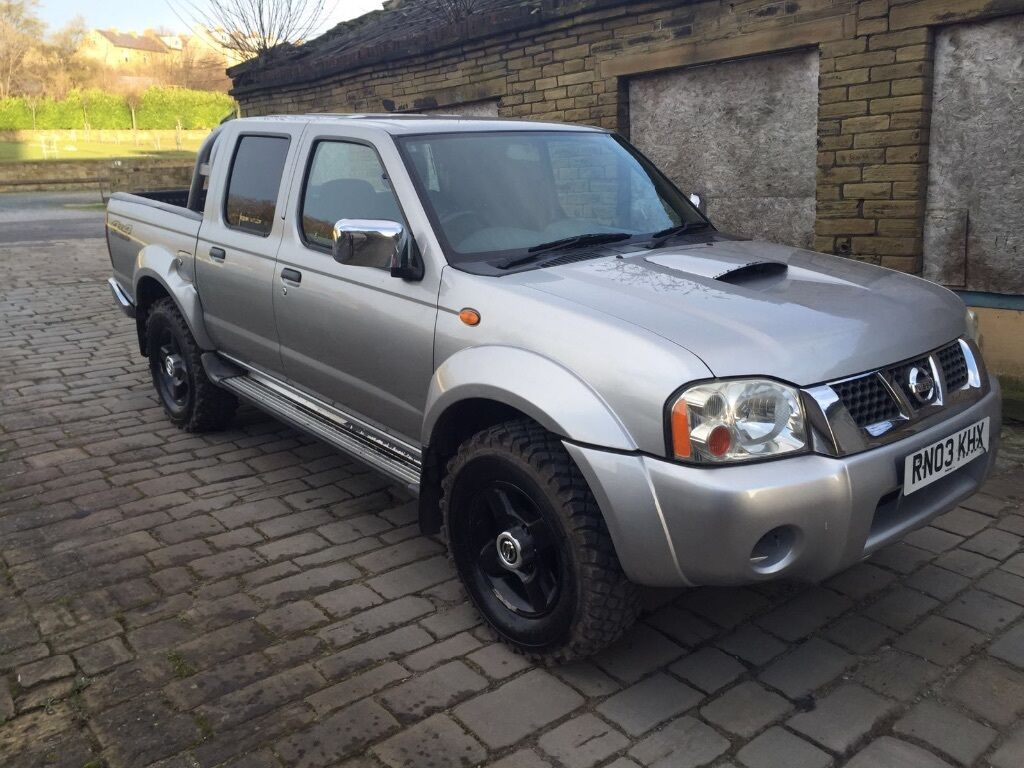 nissan navara 2 5 di d22 4x4 pickup shogun pajero 4x4 in bradford west yorkshire gumtree. Black Bedroom Furniture Sets. Home Design Ideas