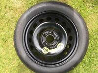 Volvo 17inch space saver spare wheel