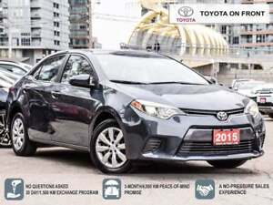 2015 Toyota Corolla LE One Owner Toyota Certified