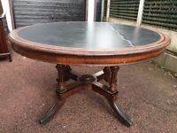 Antique / Edwardian Dining Table - Vintage Dining Table-Antique Occasional Table- Project?