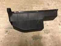 Volkswagen mk2 golf passenger side dash board under shelf storage tray