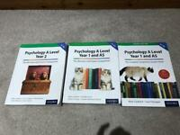 Psychology A Level Year 1 and AS and Year 2