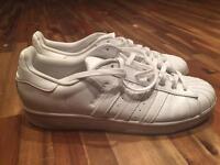 Adidas Superstar trainers men's size 9 uk