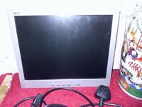"ACER FLAT SCREEN MONITOR 15"" - WALL MOUNTED"
