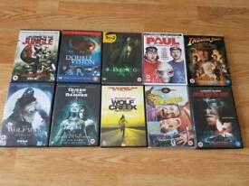 Assorted DVD's 50p each