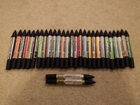 Set of 30 Promaker Pens in varied colours