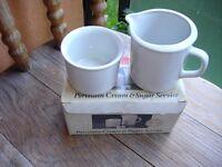 Cream & Sugar Bowls--Brand New in Box!