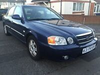 LHD LEFT HAND DRIVE KIA MAGENTIS 2.5 PETROL AUTOMATIC 2004 FULLY LOADED LEATHER CLEAN