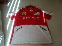 Ferrari F1 team polo shirt