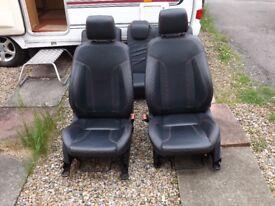 Mk7 Fiesta leather seats
