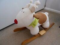 Mamas & Papas Rocking Reindeer Toy £15