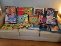 Board games and puzzles bundle/jigsaws