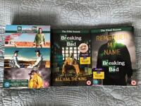 Breaking Bad DVD Seasons 1,2,3, 5 and 6(final).