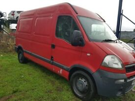 2006 56 VAUXHALL MOVANO 2.5 CDTI 6 SPEED MEDIUM WHEELBASE HIGH ROOF RENAULT MASTER TRANSIT DUCATO