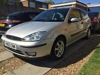 £950 FORD FOCUS 1.6 ELLE Special Edition 3dr Petrol,SILVER. Long MOT due July 2017