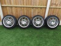 """Momo Italy KBA 44226 7.5J x 16"""" Alloy Wheels 4 x 100 ET35"""
