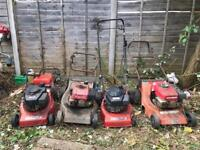 Honda Lawnmowers for Sale X4