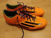 Adidas football boots F50 astro size 10